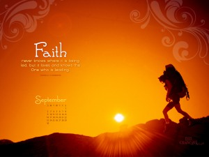 Oswarld Chamblers – Faith Wallpaper