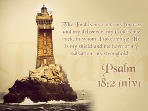Psalm 18:2 – God Is My Everything Wallpaper