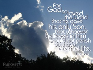 John 3:16 – God Loves The World Wallpaper