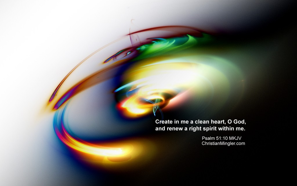 Psalm 51:10 – Renew My Heart christian wallpaper free download. Use on PC, Mac, Android, iPhone or any device you like.