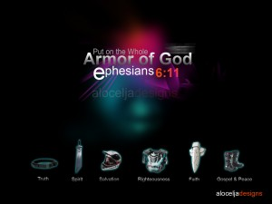 Ephesians 6:11 – Armor of God Wallpaper
