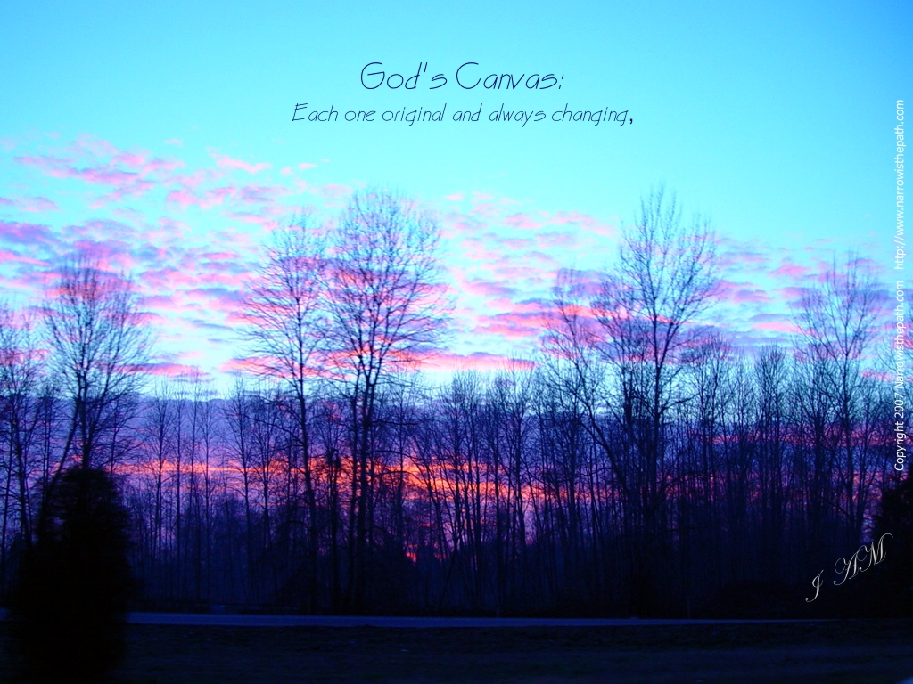 God's Canvas christian wallpaper free download. Use on PC, Mac, Android, iPhone or any device you like.
