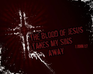 1 John 1:7 – Blood Of Christ Wallpaper