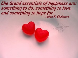 Allan K. Chalmers – Essential Of Happiness Wallpaper