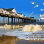 John 14:22 – My Peace I Give You Wallpaper Christian Background