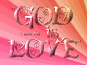 1 John 4:16 – Love Of God For Us Wallpaper