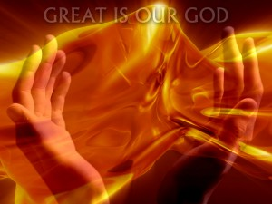 Great Is Our God Wallpaper