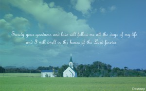 Goodness Of The Lord Wallpaper