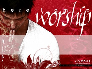 Here I Am To Worship Wallpaper