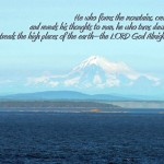 Amos 4:13 – The LORD God Almighty Wallpaper Christian Background