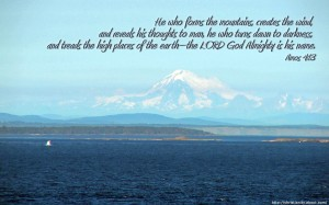 Amos 4:13 – God Almighty Wallpaper