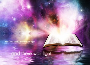 Genesis 1:3 – And There was Light Wallpaper
