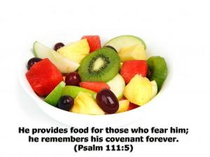 Psalm 111:5 – He provides Wallpaper