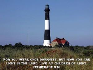 Ephesians 5:8 – Children of Light Wallpaper