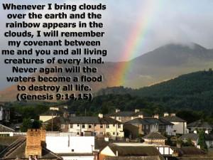 Genesis 9:14-15 – Covenant Wallpaper