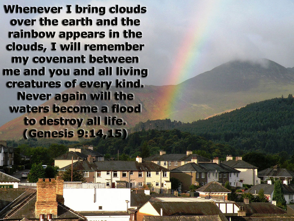 Genesis 9:14-15 – Covenant christian wallpaper free download. Use on PC, Mac, Android, iPhone or any device you like.