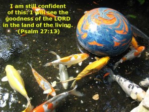 Psalm 27:13 – The Goodness of the Lord Wallpaper