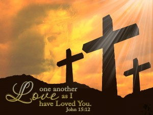 John 15:12 – Love one another Wallpaper