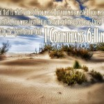 1 Corinthians 6:11 – Sanctified Wallpaper Christian Background