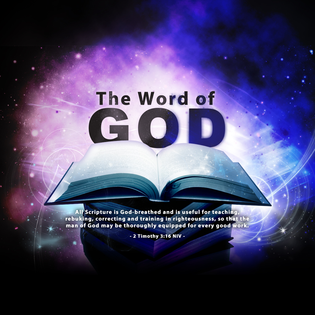 2 Timothy 3:16 – The Word of God christian wallpaper free download. Use on PC, Mac, Android, iPhone or any device you like.