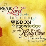 Proverbs 9:10 – Wisdom and Knowledge Wallpaper Christian Background
