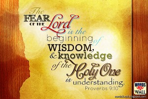 Proverbs 9:10 – Wisdom and Knowledge Wallpaper