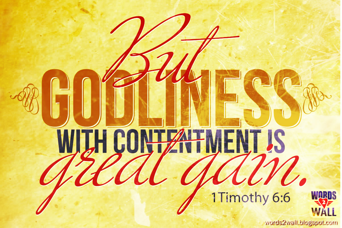Inspirational wallpapers and backgrounds 1 timothy 66 contentment thecheapjerseys Image collections