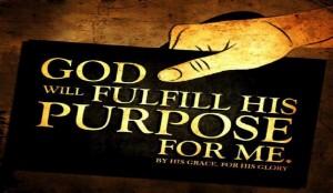 Psalm 138:8 – God's Purpose Wallpaper