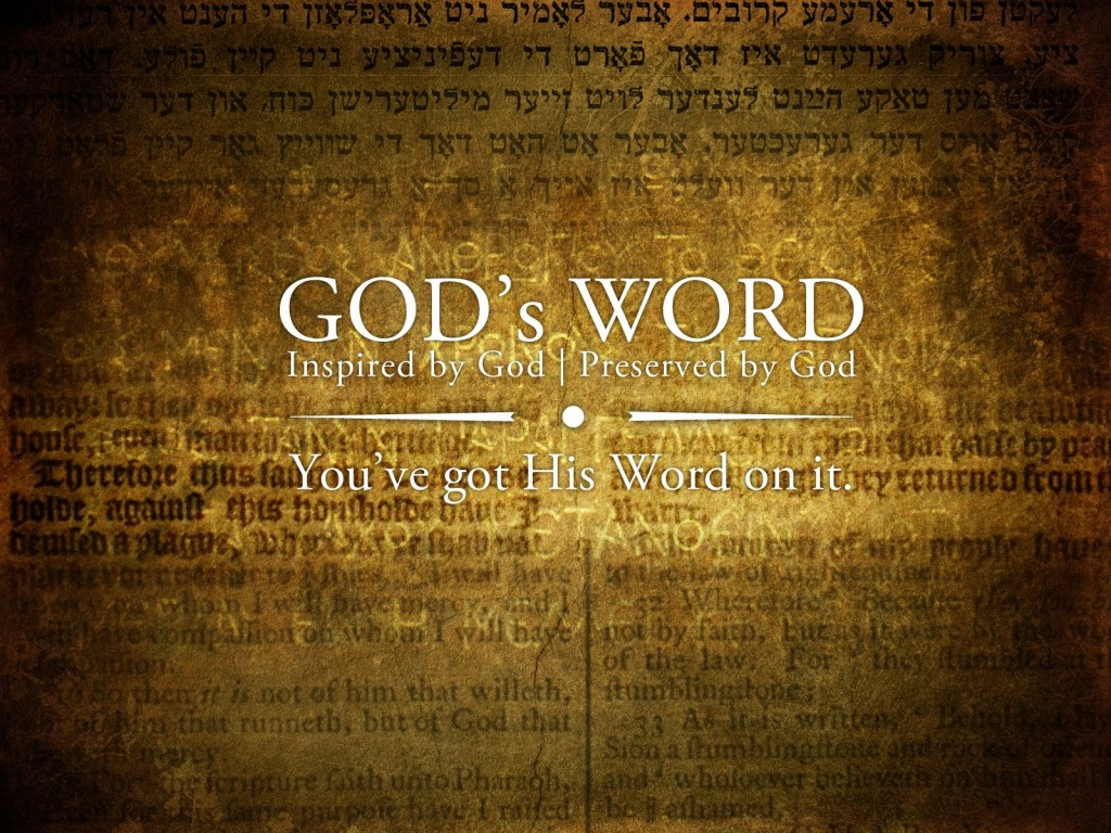God's Word christian wallpaper free download. Use on PC, Mac, Android, iPhone or any device you like.