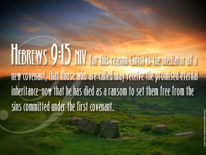 Hebrews 9:15 – Eternal Inheritance Wallpaper