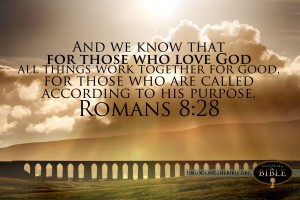 Romans 8:28 – Purpose Wallpaper