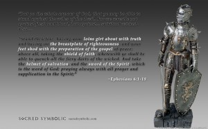 Ephesians 6:1-18 – Armour Wallpaper