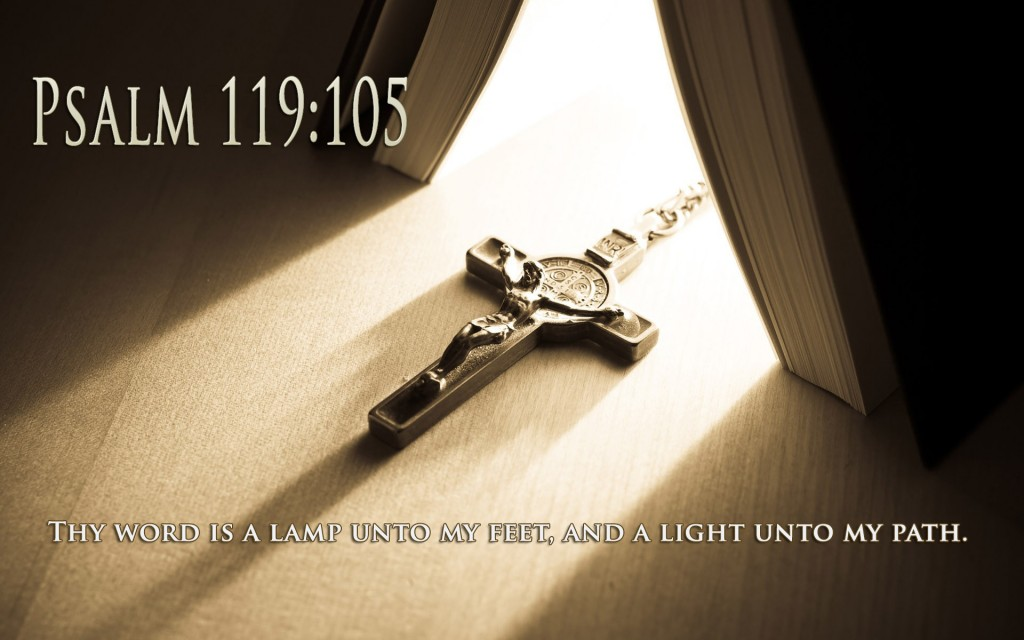 Psalm 119:105 – Thy Word christian wallpaper free download. Use on PC, Mac, Android, iPhone or any device you like.