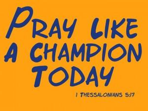 1 Thessalonians 5:17 – Pray Wallpaper