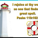 Psalm 119:162 – Rejoice at thy Word Wallpaper Christian Background