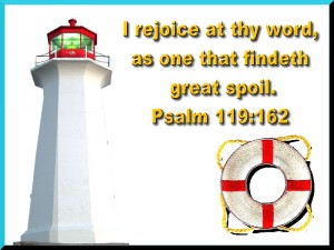 Psalm 119:162 – Rejoice at thy Word Wallpaper