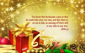 1 John 3:5 – God's will Wallpaper
