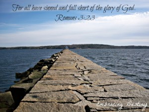 Romans 3:23 – Glory of God Wallpaper