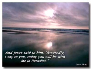 Luke 23:43 – Paradise Wallpaper