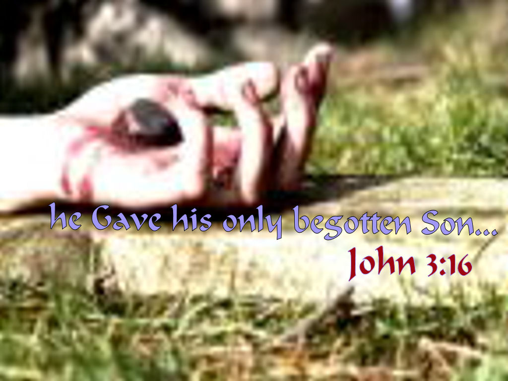 John 3:16 – He gave his only son christian wallpaper free download. Use on PC, Mac, Android, iPhone or any device you like.