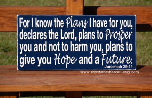 Jeremiah 29:11 – Hope and Future Wallpaper
