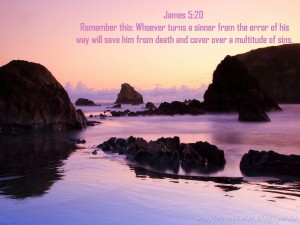 James 5:20 – Remember this Wallpaper