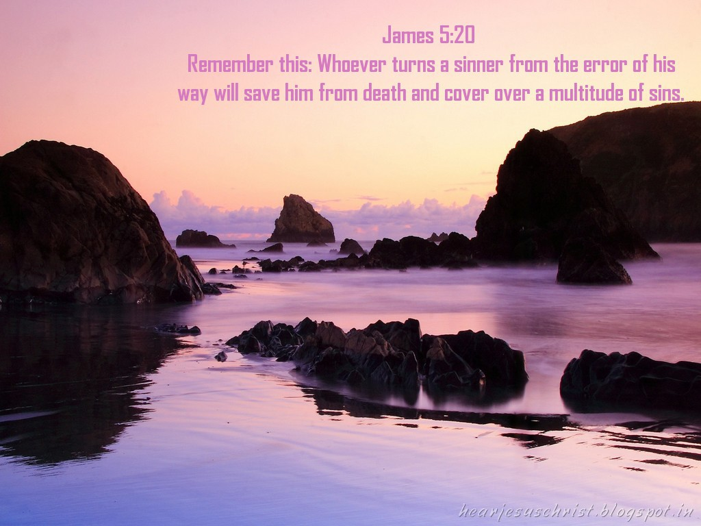 James 5:20 – Remember this christian wallpaper free download. Use on PC, Mac, Android, iPhone or any device you like.