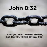 John 8:32 – The truth will set you free Wallpaper Christian Background