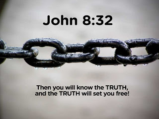 John 8:32 – The truth will set you free christian wallpaper free download. Use on PC, Mac, Android, iPhone or any device you like.