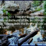 Revelation 22:1 – The Water of Life Wallpaper Christian Background