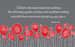 Teachers who Inspire Wallpaper