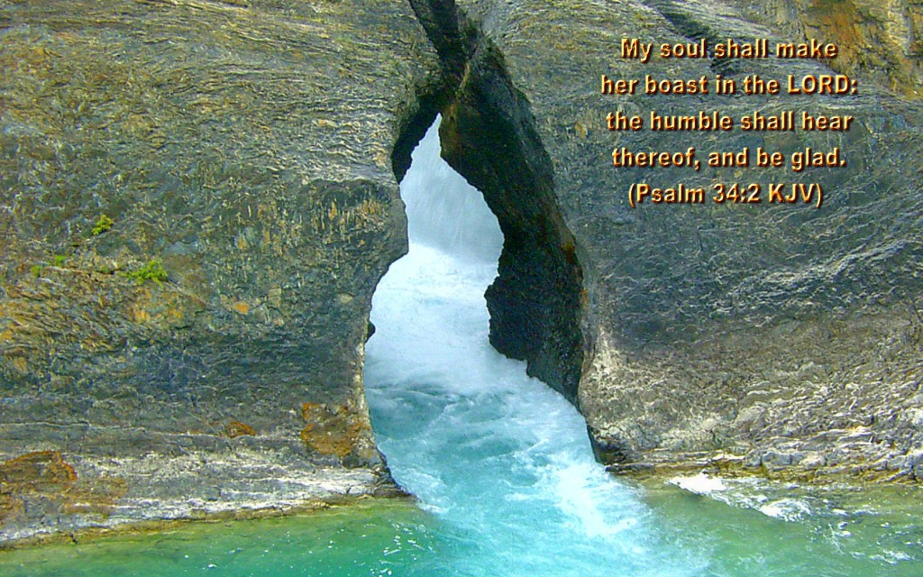 Psalm 34:2 – Be Glad christian wallpaper free download. Use on PC, Mac, Android, iPhone or any device you like.