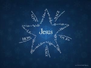 John 8:12 – The Light of the World Wallpaper