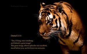 Daniel 2:31 – Awesome King Wallpaper